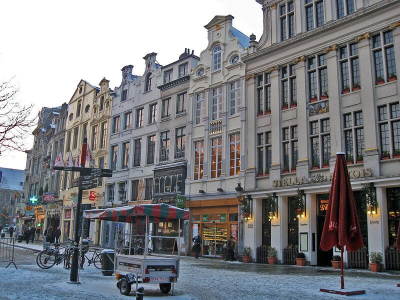 На улочках Брюсселя