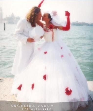 Анжелика варум свадебное платье