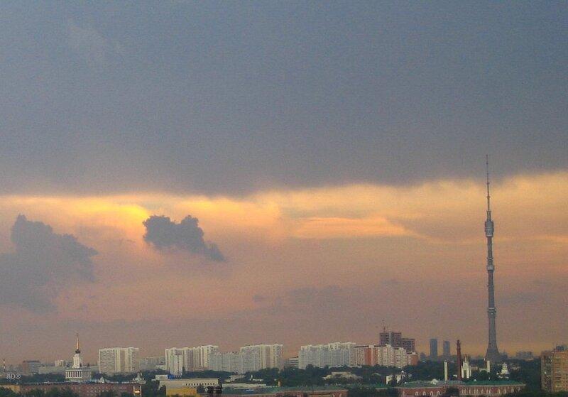 августовское небо