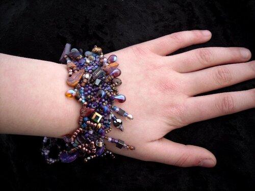 бисероплетение в стиле фриформ бижутерия своими руками