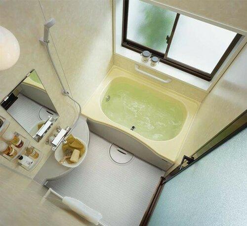планировка маленькой ванной