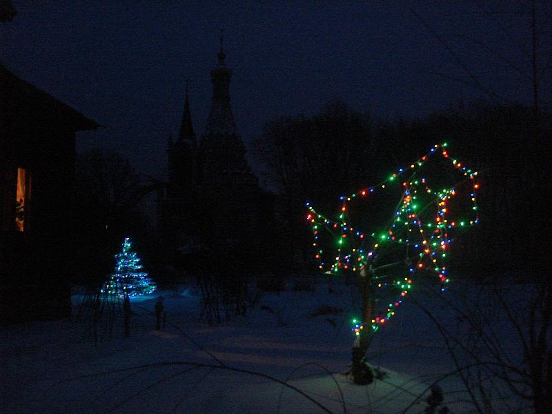 Зима. Рождество. Остров.