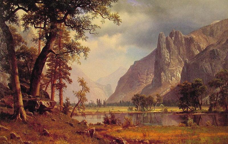 Альберт Бирштадт (Albert Bierstadt) - картины