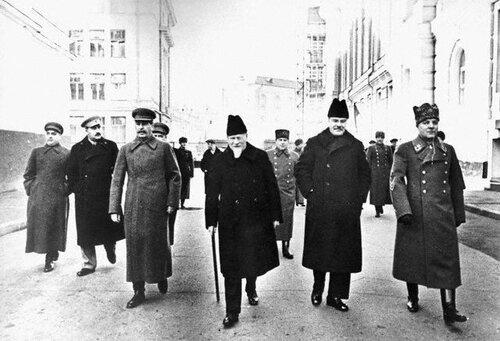 Советские лидеры, 1930е