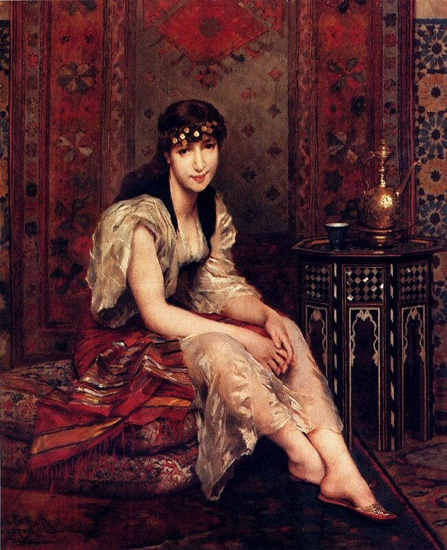 De Jonghe Gustave Leonhard Meditation