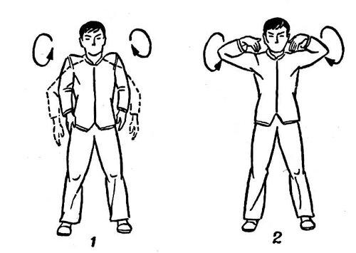 Суставная гимнастика для плечей пертеса болезнь суставов