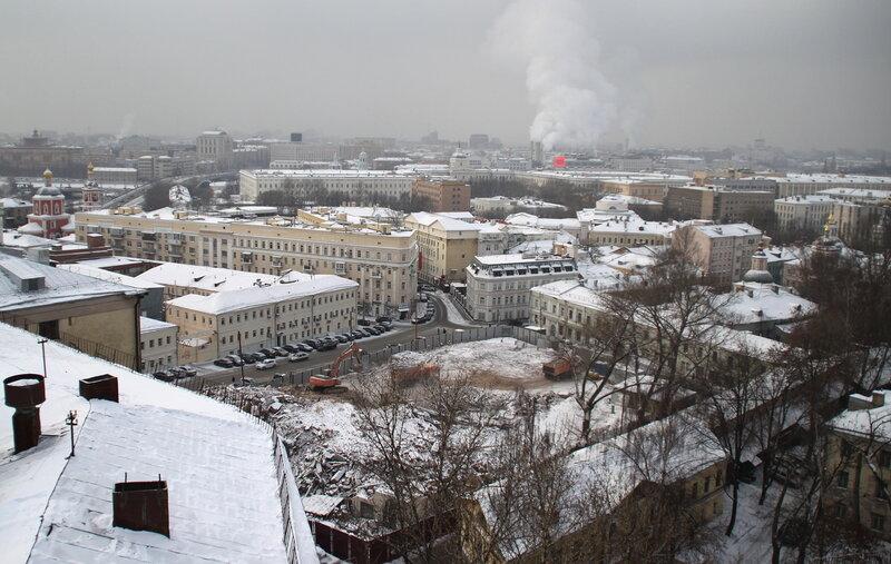 Хитровская площадь.25.01.10.