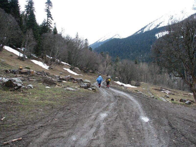 Альпинистские сборы в Архызе. Май 2009