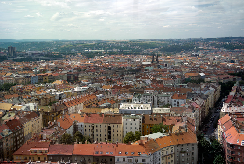 Телебашня в Праге