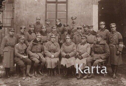 Львов, 1918, 1_й отдел полевой жандармерии.