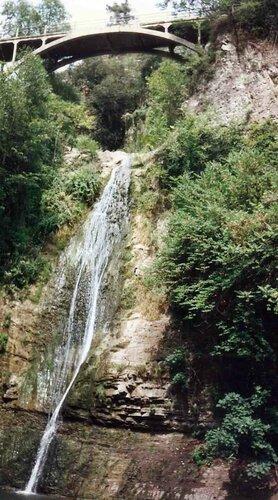 Закаблуцкая Елена, водопад в Ботаническом