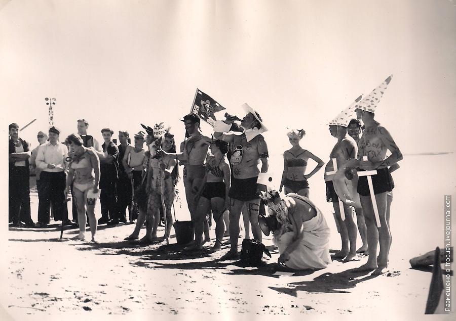День Нептуна в Никольском 1965 год