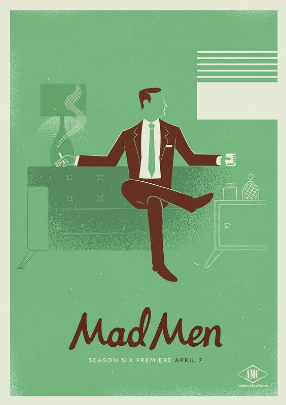 Mad Men Season 6 Poster Designs by Radiobeec