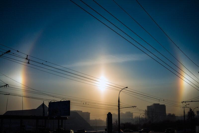 Гало в Иркутске