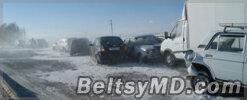 ДТП под Красноярском — столкнулись 16 авто