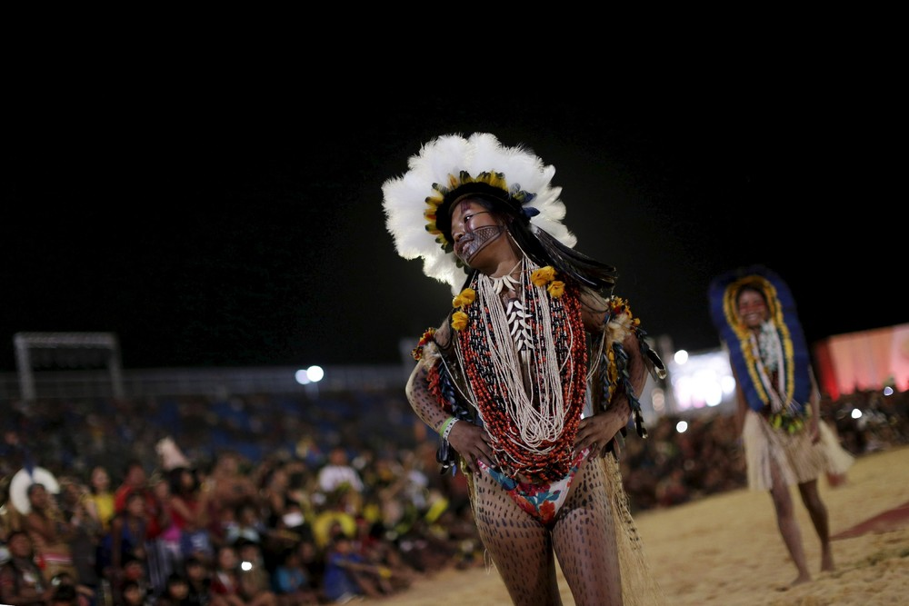 I Всемирные игры коренных народов в Бразилии