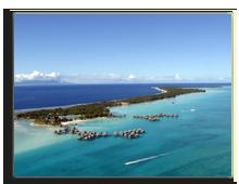 Французская Полинезия. Bora Bora paradise from the air. Фото 4745052183 - shutterstock