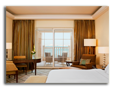 ОАЭ. Дубаи. The Westin Dubai Mina Seyahi Beach Resort & Marina. Deluxe Sea View Room