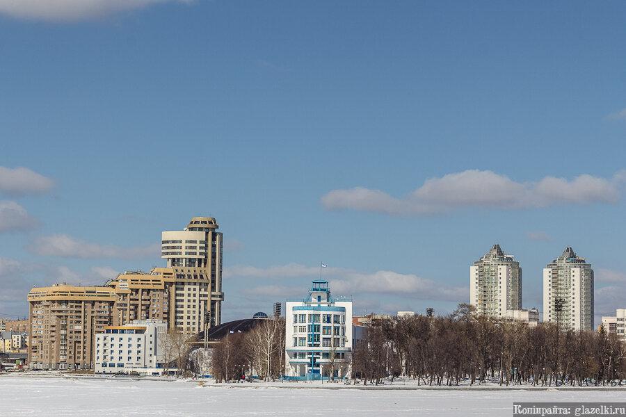 Зимний Екатеринбург.