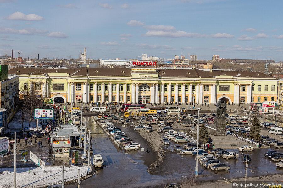 Екатеринбург. Привокзальная площадь.