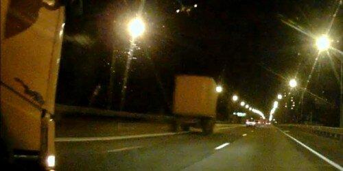 Авария из 30 машин в Петербурге