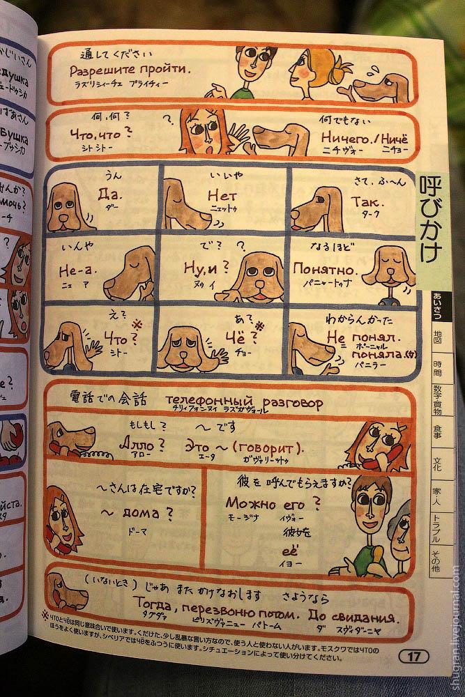 японско русский разговорник