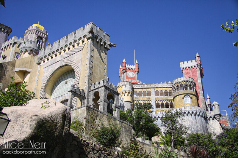 дворец Пена, pena palace, sintra