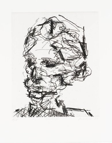 Michael 1990 by Frank Auerbach born 1931