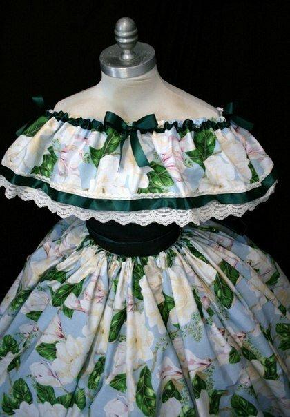 Платья скарлетт охара выкройки