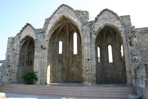церковь Богородицы, Родос