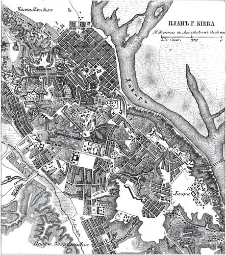 Генплан Неаполя конца 18-ого века
