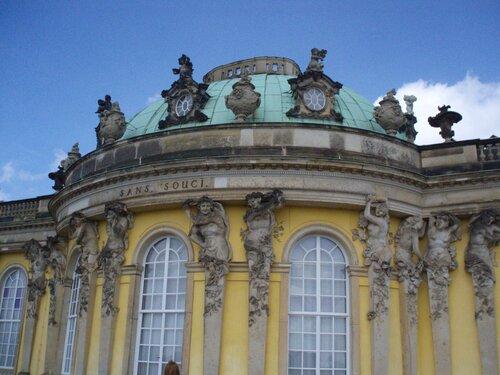 Идиллия Потсдама - дворцы,  парки и фонтаны -