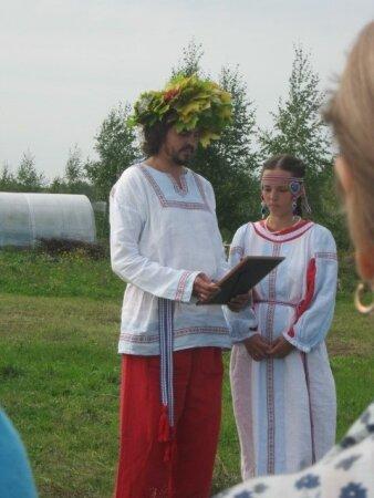 Венчание Ивана и Регины Лебедевых