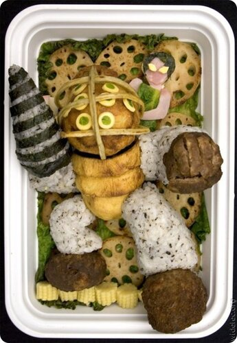 Простой японский обед