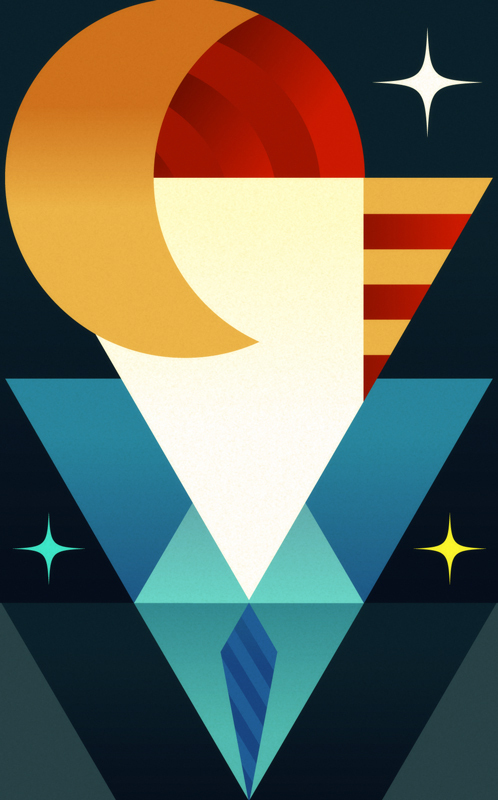 Графика от Lerms - яркие мексиканские краски! 35 иллюстраций