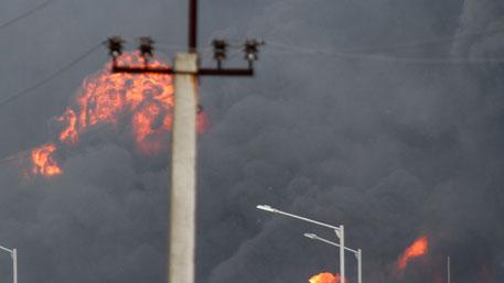 НаСумщине из-за пожара ввоенной части погибли двое военных