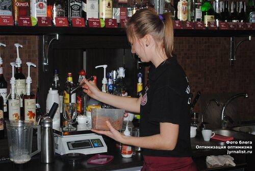 День бармена бариста в Луганске