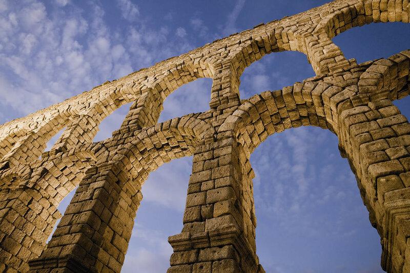 акведук, архитектура, сеговия