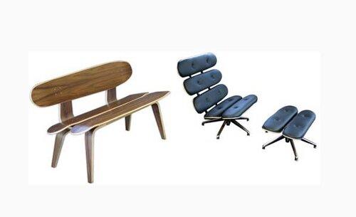 Мебель из скейтбордов2