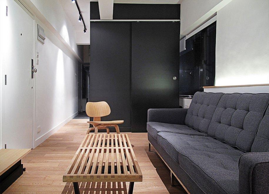 Квартира площадью 32 квадратных метра в Гонконге