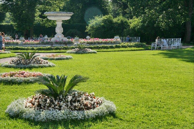 Царское Село, Собственный садик в Екатерининском парке