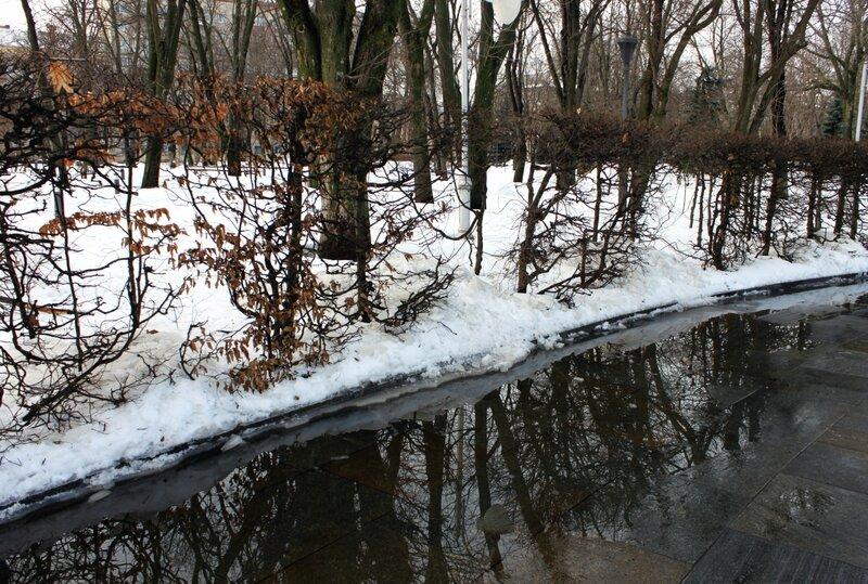 Февральская оттепель в Киеве