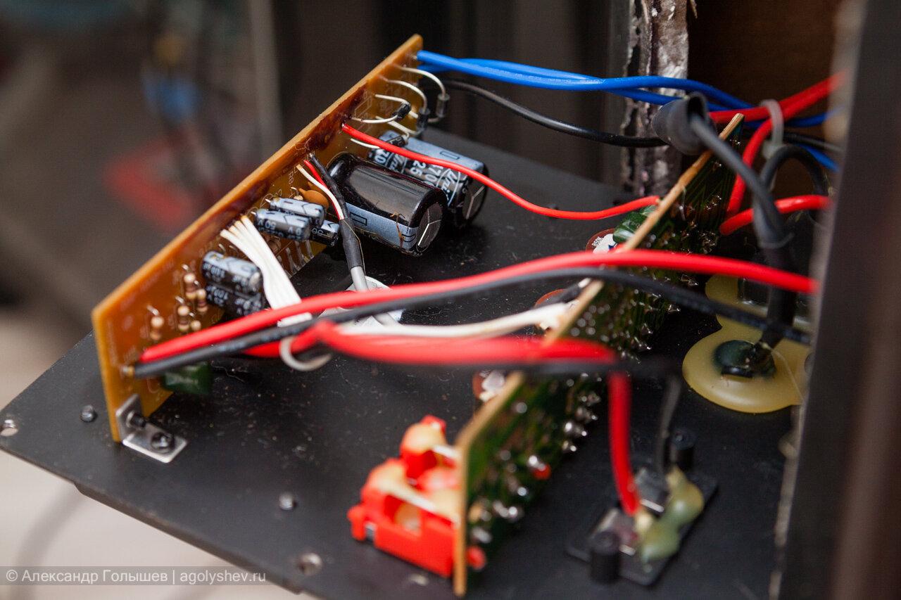 Электроника колонок