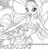 Раскраски винкс и маленьких пони - волшебное приключения