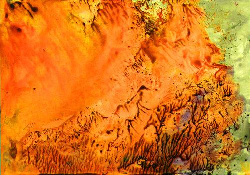 Песчаная буря Т. Туркомановой