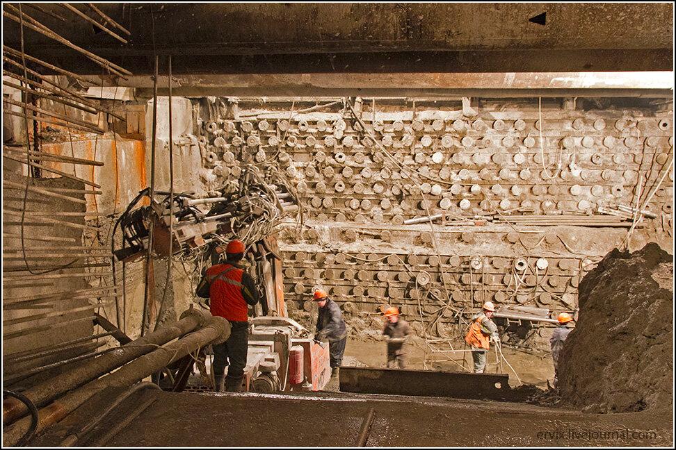 Внутри Алабяно-Балтийского тоннеля