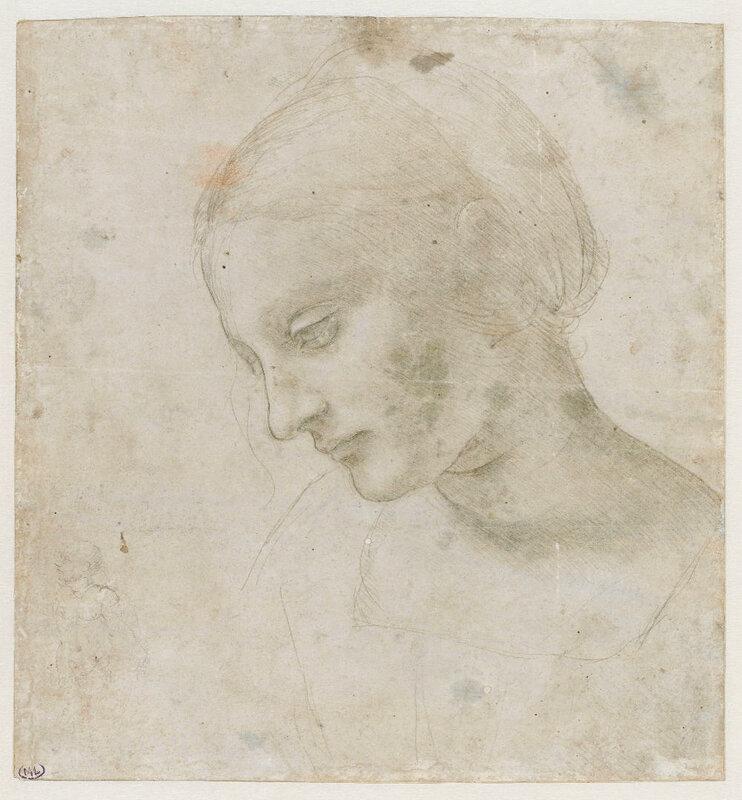 Leonardo Da Vinci Studio per Madonna Litta