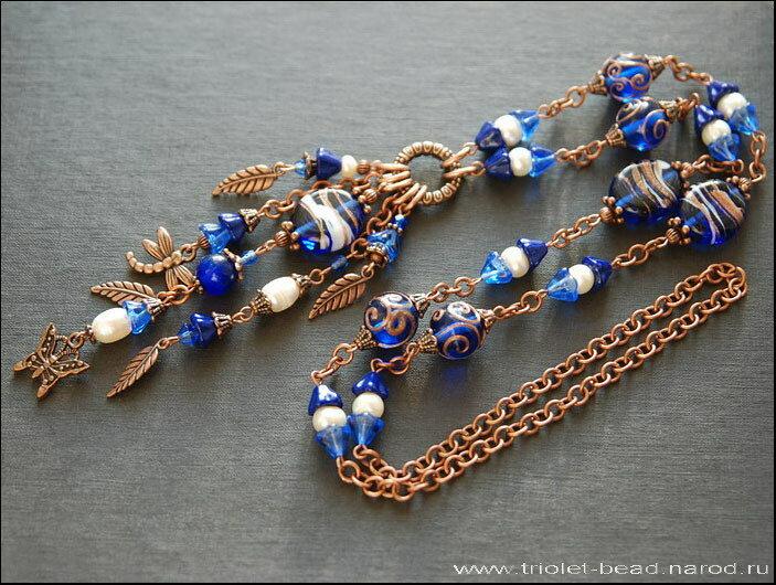 Triolet-bead: Авторские украшения ручной работы.