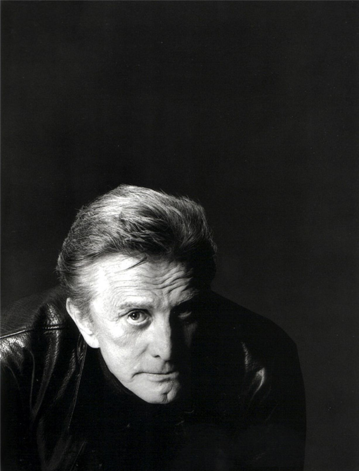 Kirk Douglas / Кирк Дуглас - портрет фотографа Грега Гормана / Greg Gorman