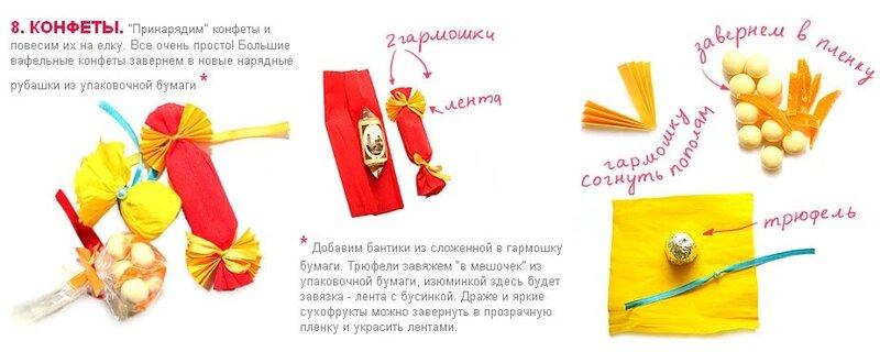 Инструкция как делать елочные игрушки